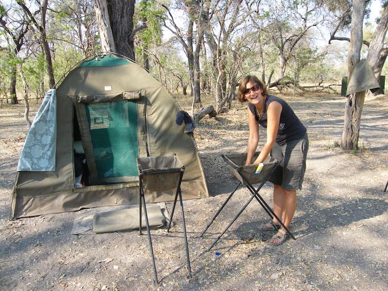 Amanda in Botswana