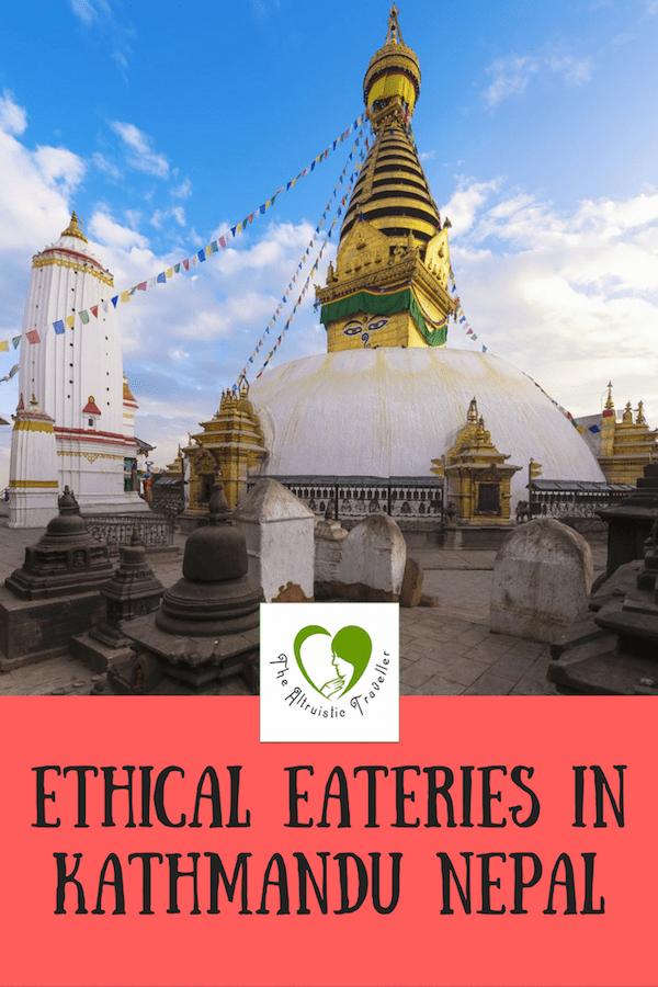 Ethical Eateries in Kathmandu Nepal