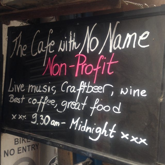 Cafe with no name - Ethical eateries