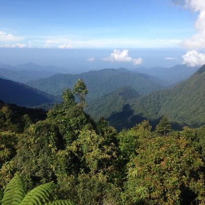 View from Gunung Brinchang