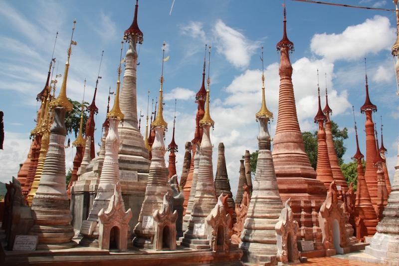 Indein Pagodas