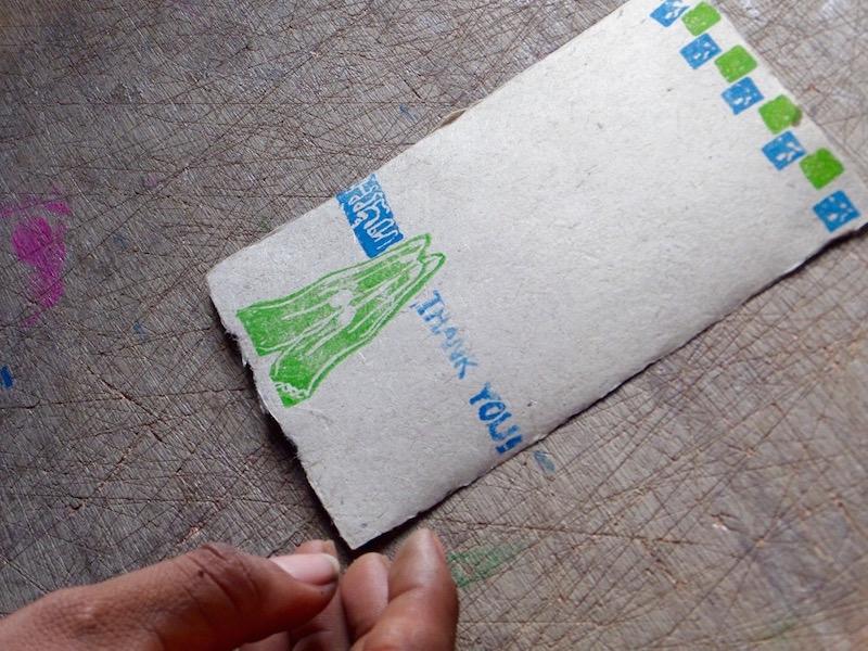 Banana Paper card