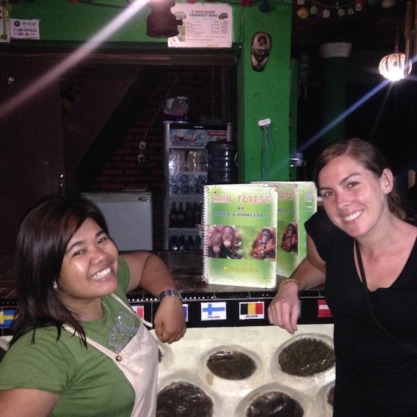 Nella and I Sumatra