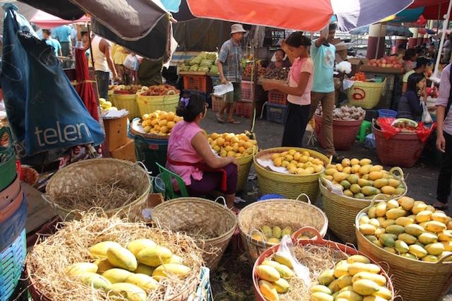 Mango season Yangon