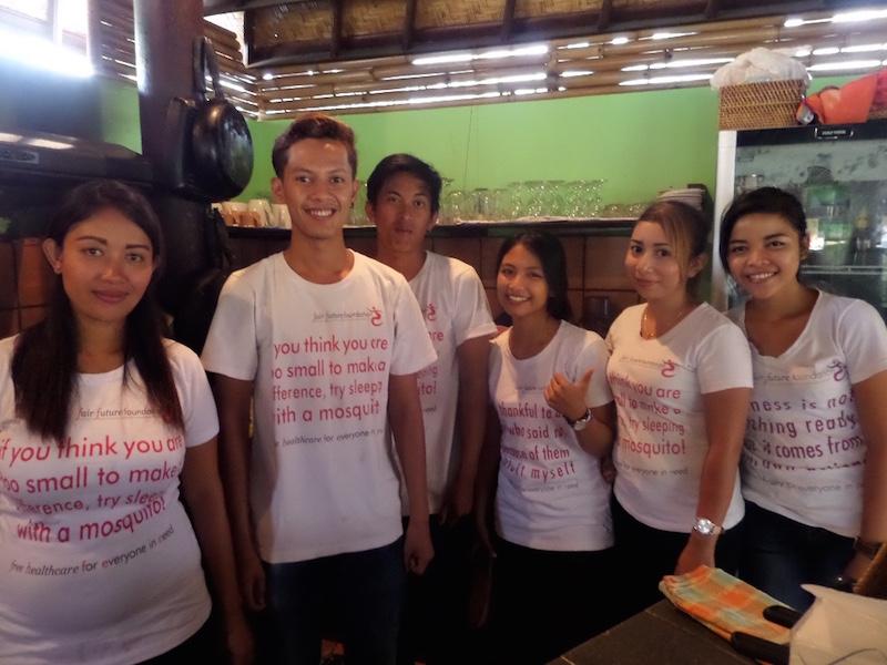 Staff at Fair Warung Bale