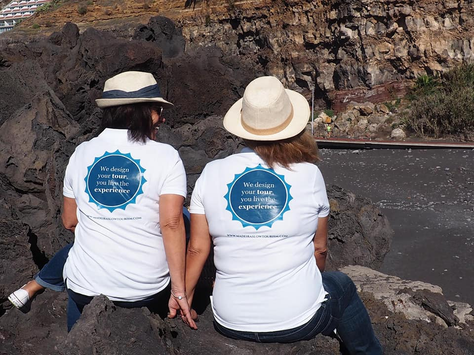 Picture of the two women behind Madeira Slow Tourism