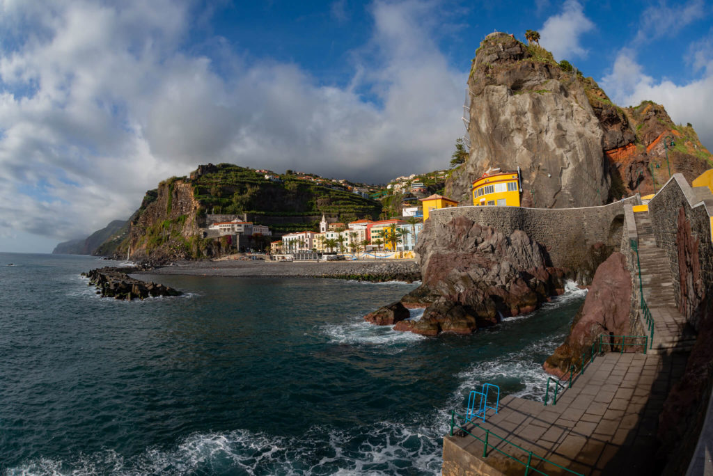 Picture of Madeira cliff-side