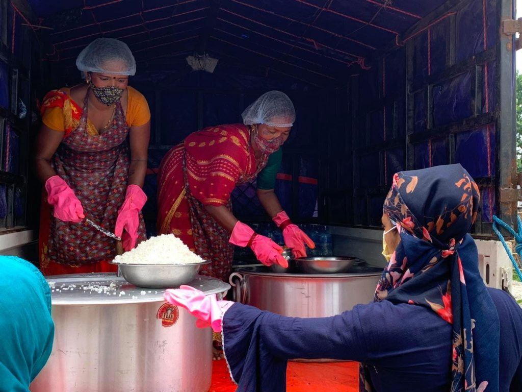 Empowerment Collective food distribution to vulnerable citizens