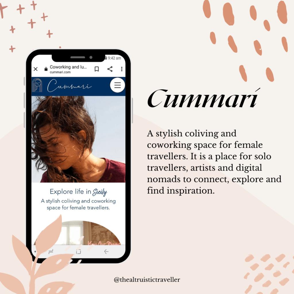 Cummari feature solo female travel